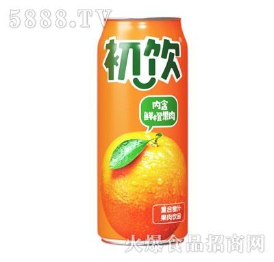 初饮500g复合橙汁果肉饮品