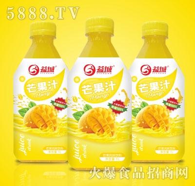 益城1L芒果汁饮料1LX8支