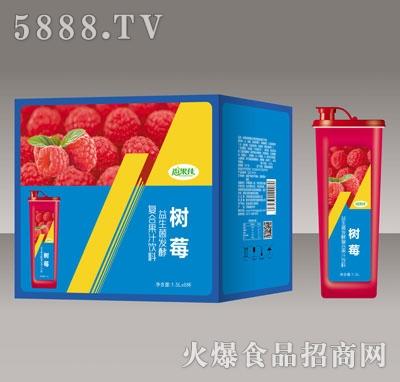 尚果佳益生菌发酵树莓复合果汁1.5LX6