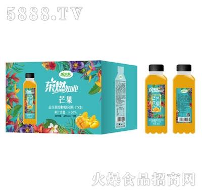 尚果佳益生菌发酵芒果汁460mlX15