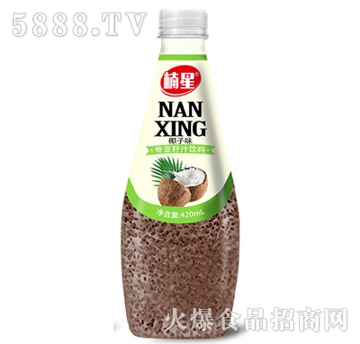 楠星椰子味奇亚籽果汁420ml