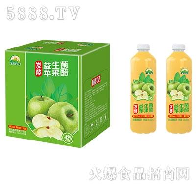 楠星水果下山益生菌发酵苹果醋