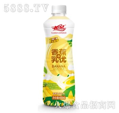 花皇香蕉乳味饮料480ml