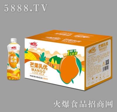 花皇芒果乳味饮料480mlX15