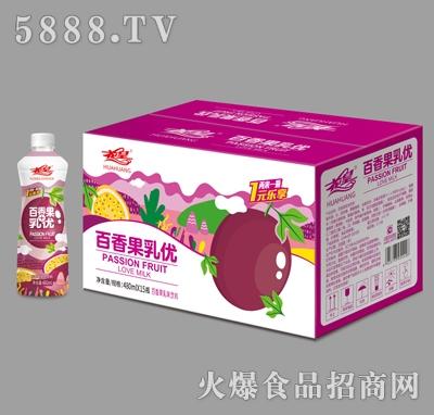 花皇百香果乳味饮料480mlX15