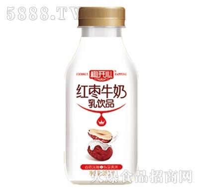 椰开心红枣牛奶乳饮品350ml