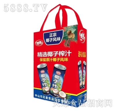 花皇椰子汁(袋)