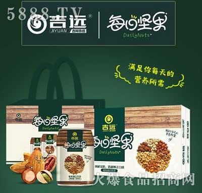吉远每日坚果植物蛋白饮品(礼盒)