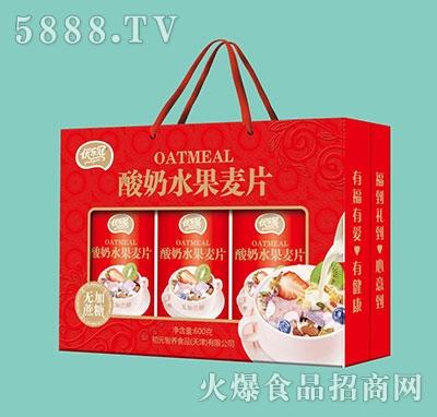 优乐冠酸奶水果麦片