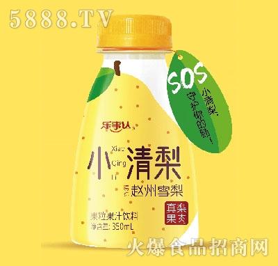 乐事达小清梨果粒梨汁350ml