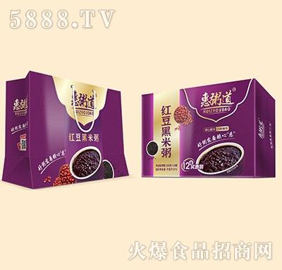 惠粥道红豆黑米粥320克x12罐