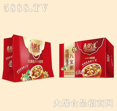 惠粥道桂圆莲子八宝粥320克x12罐