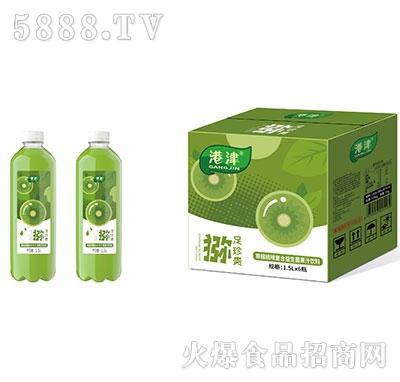 港津�J猴桃味�秃弦嫔�菌果汁�料1.5Lx6瓶