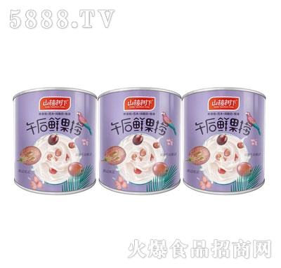山楂树下午后鲜果捞水果罐头(罐)产品图