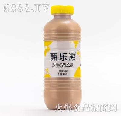 甄乐滋甜牛奶乳饮品哈密瓜味450ml