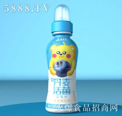 益正元乳酸菌饮品蓝莓味200ml