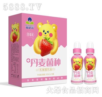 益正元乳酸菌饮品草莓味200mlX16