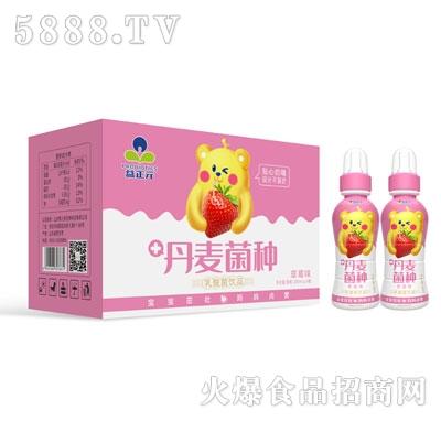 益正元乳酸菌饮品草莓味200mlX24