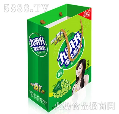 九明升果粒葡萄复合果汁礼盒