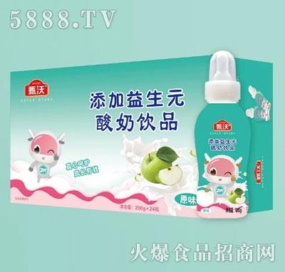 甄沃酸奶饮品原味200gX24