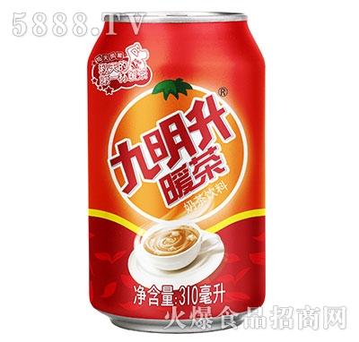 九明升暖茶奶茶310ml