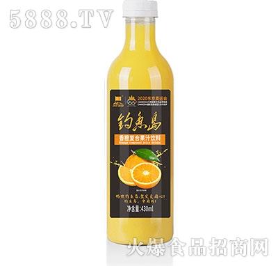 钓鱼岛香橙复合果汁430ml