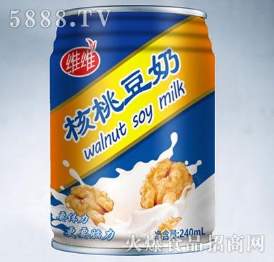 维维核桃豆奶240ml
