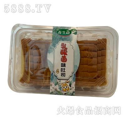 养生冠乳酸菌味吐司面包产品图