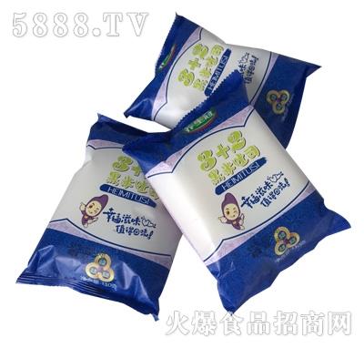 养生冠3+2黑米吐司面包产品图