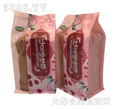 养生冠红豆味吐司面包(袋)产品图