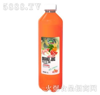 苗翠花益生菌发酵蜜桃西柚汁饮料1.5L