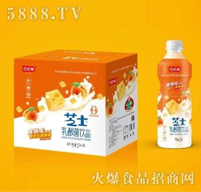 百芝源芝士乳酸菌饮品1.25LX6