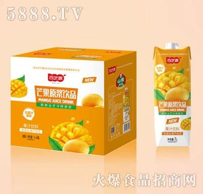 百芝源芒果果汁饮料1LX6