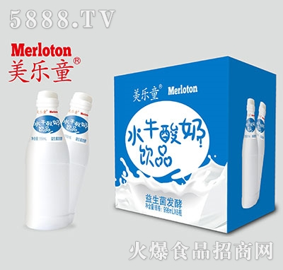 美乐童水牛酸奶饮品998mlx6