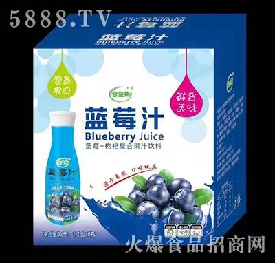 合益���{莓汁1.25Lx6