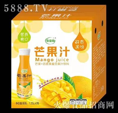 合益��芒果汁1.25Lx6