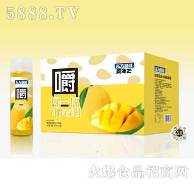 美添芒果粒芒果汁饮品420mlX15