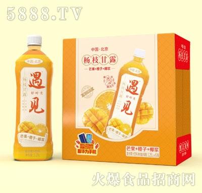 遇见杨枝甘露复合果汁饮料1.25LX6