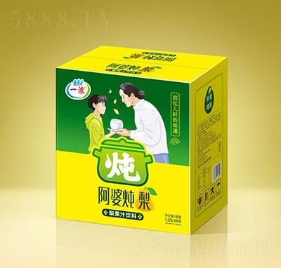 一浓阿婆炖梨梨果汁饮料1.25Lx6瓶