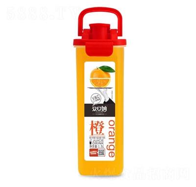 �口妙橙汁�O果汁�秃瞎�汁�料1.5L
