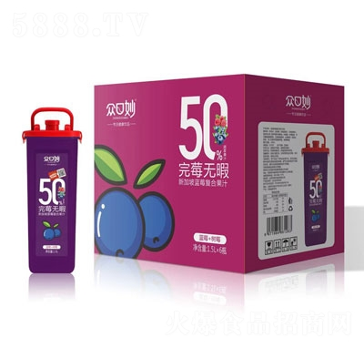 �口妙新加坡�{莓�秃瞎�汁1.5LX6