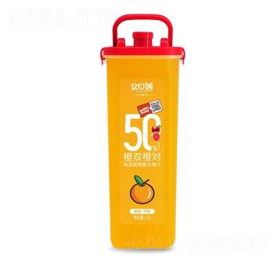 �口妙埃及甜橙�秃瞎�汁1.5L