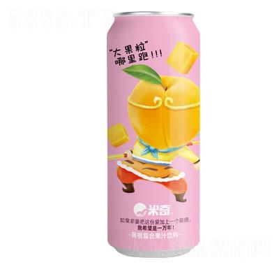 米奇黄桃大果粒490mlX15罐
