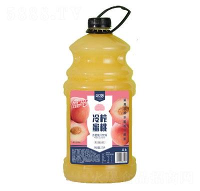 �口妙水蜜桃汁�料2.5L