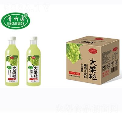 青竹园葡萄混合果汁饮料930mlx6瓶