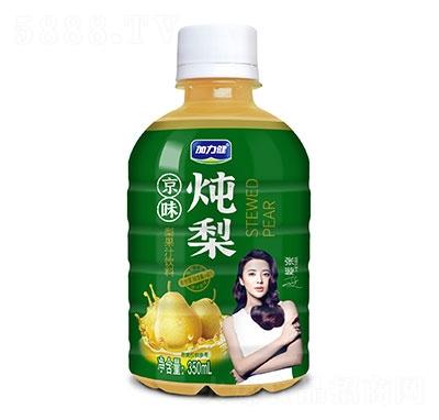 加力健京味炖梨梨果汁饮料350ml