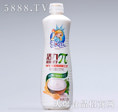 甜心活力π燕麦椰子植物蛋白饮品1.25L
