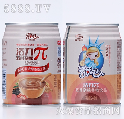 甜心π谷物饮料245ml