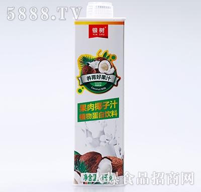 银树果肉椰子汁1KG