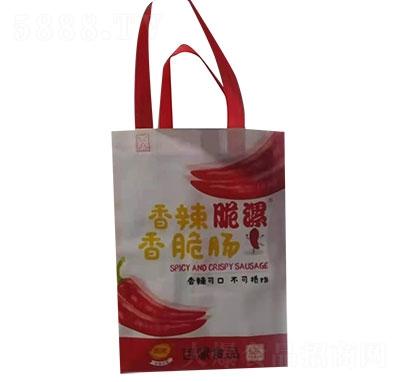 百漯香辣脆漯香脆肠礼盒袋产品图